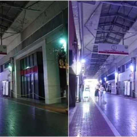 フルカラー「IoTスマート照明」商店街で実証実験開始!|NetLED